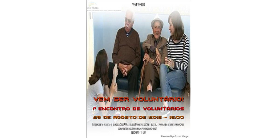 1º Encontro de Voluntários - Noticias