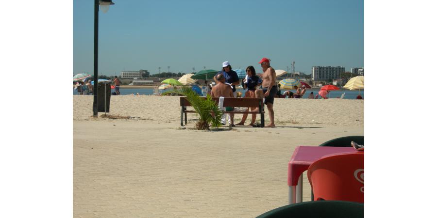 Ação de praia - Noticia