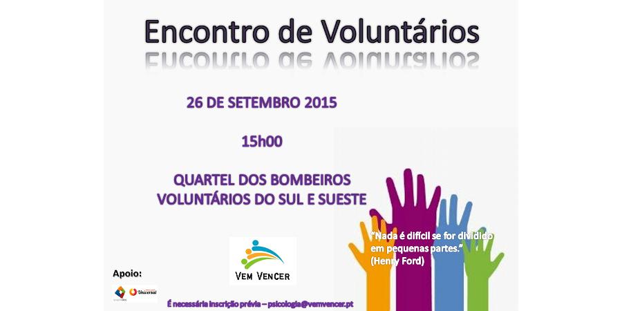 Encontro de Voluntários - Noticia