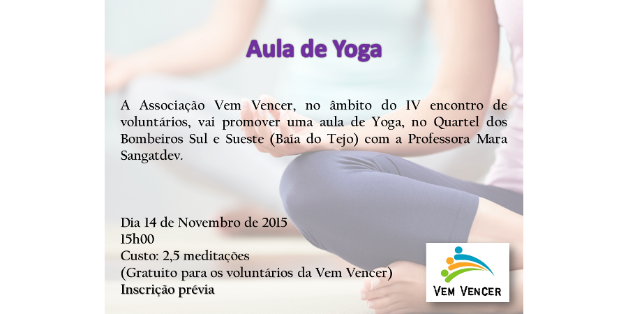 Aula Yoga - Noticia